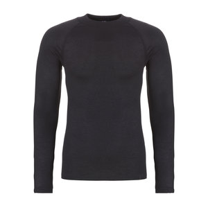 Ten Cate Heren Thermo basic shirt lm - Zwart